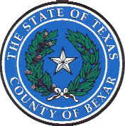 Bexar County, Texas Website Logo
