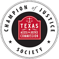 Champion of Justice Society Member Logo